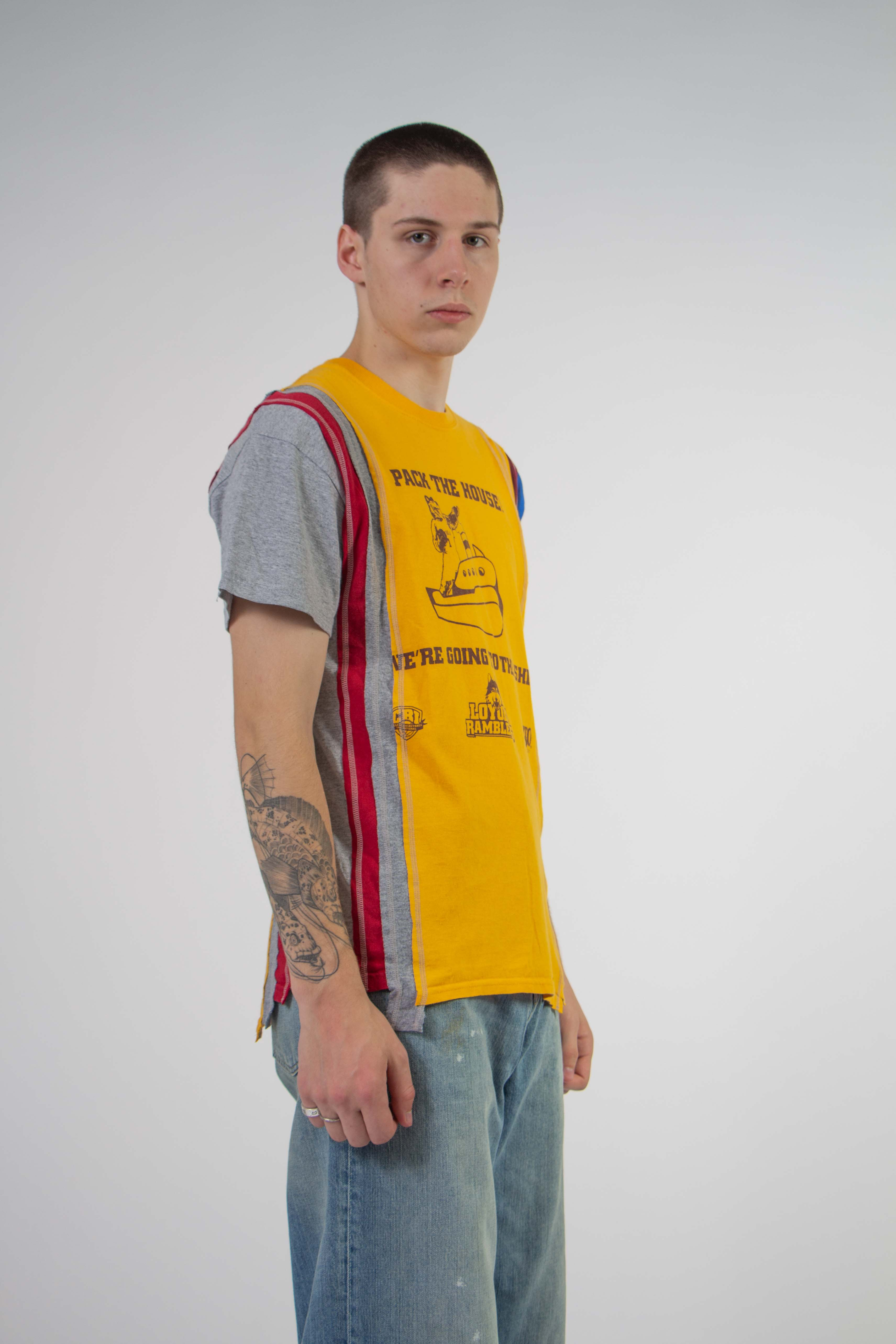 Rebuild 7 Cut S/S College Tee Small (A)