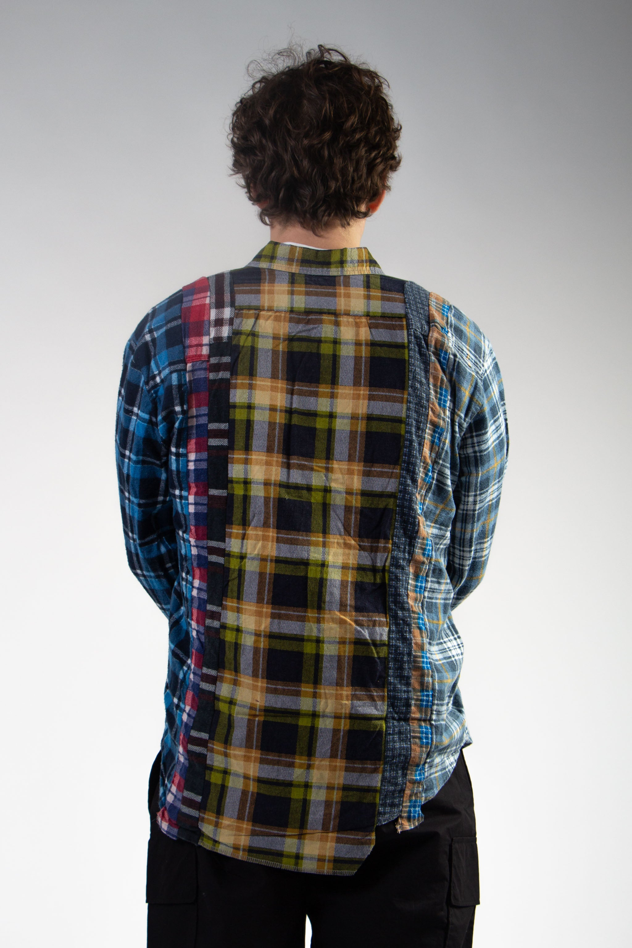7 Cut Flannel Small (B)
