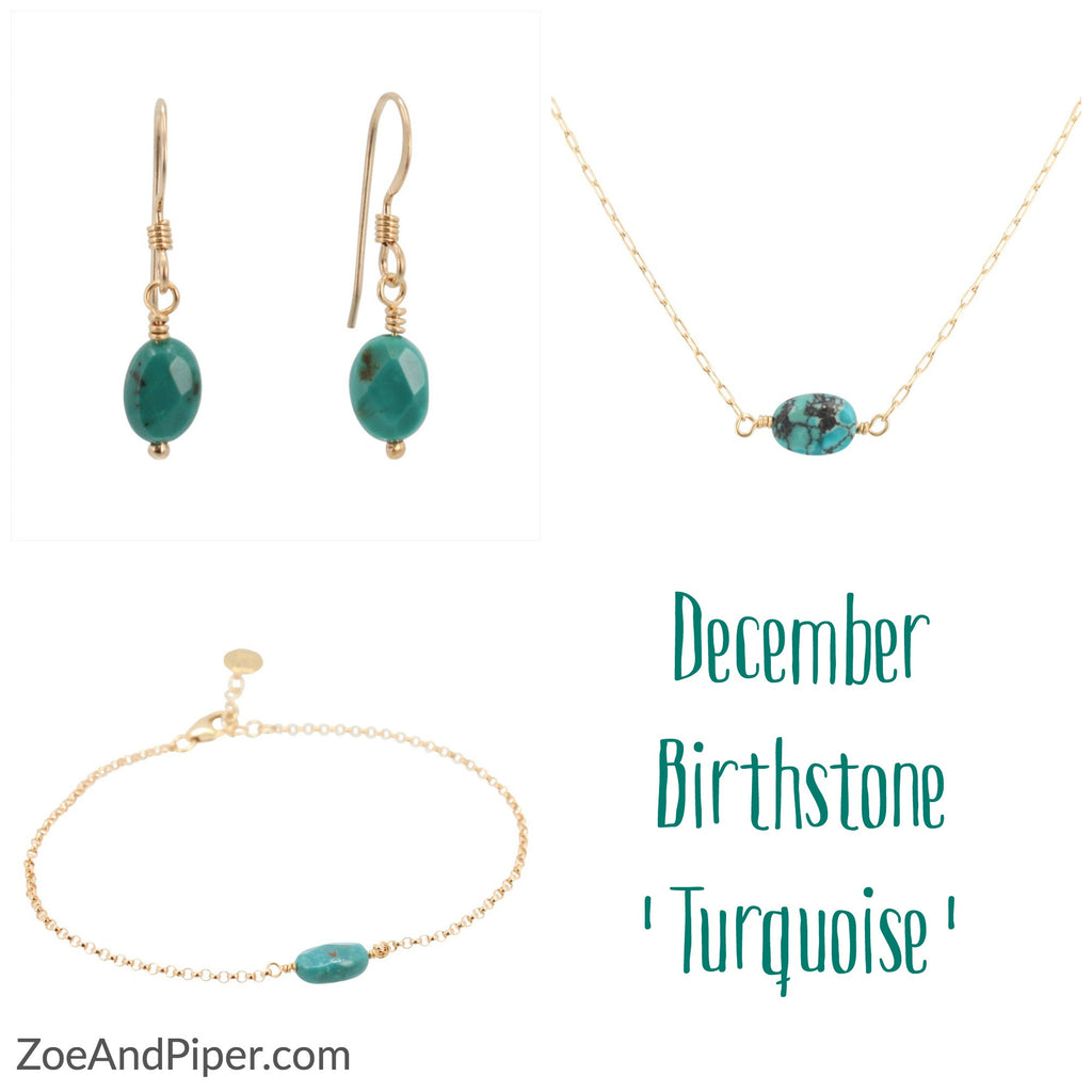 Turquoise is the Birthstone for December