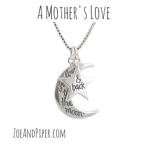 mothers day gift ideas, I love you necklace