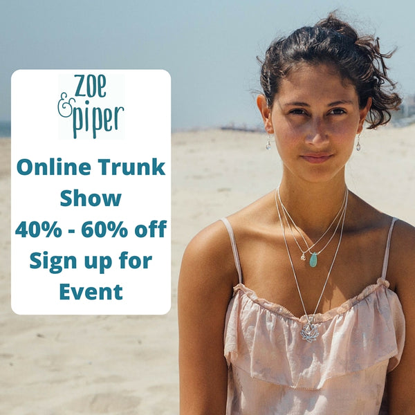 Virtual Jewelry trunk show at Zoe and Piper