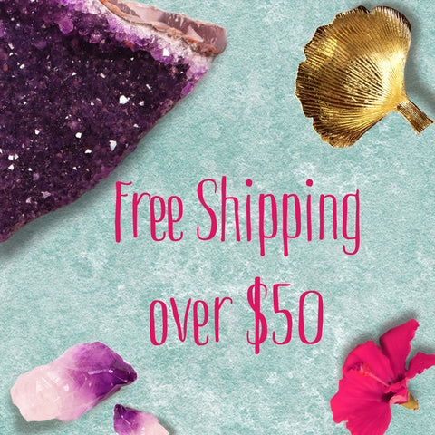 free shipping at Zoe and Piper jewelry