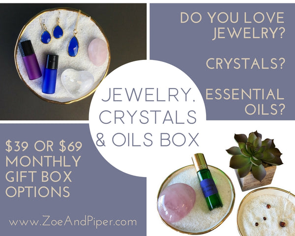 essential oil jewelry subscription box