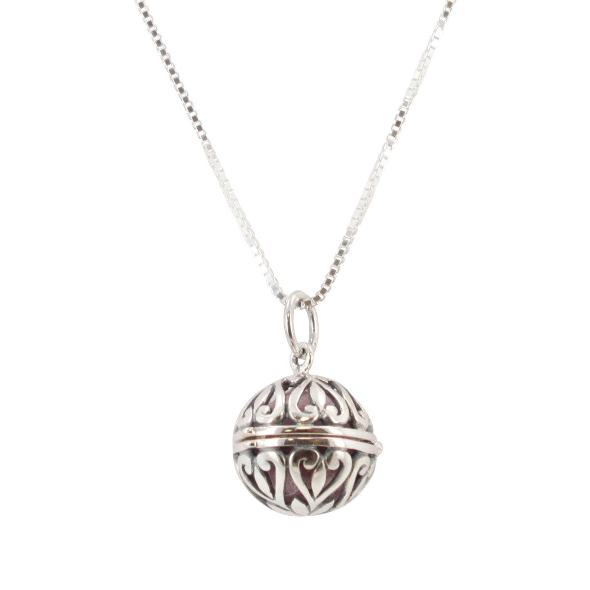 Silver Locket Necklace Fragrance Essential Oil Aromatherapy Diffuser Pendant !!