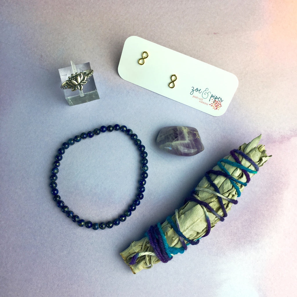Essential Oil, Crystals and Jewelry Subscription Box - Zoe