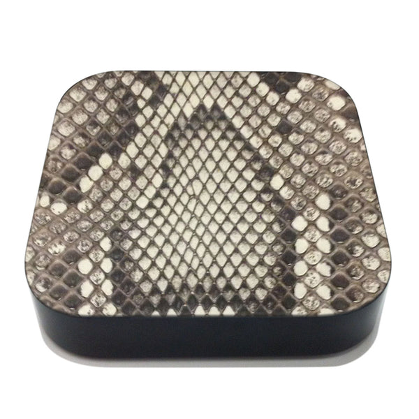 Python Apple TV Leather Cover