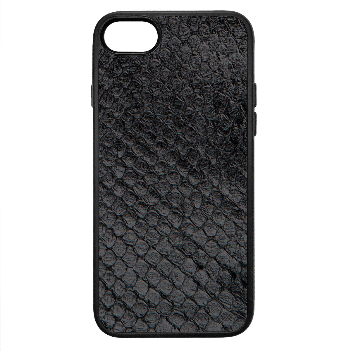 Black Anaconda iPhone 7 Leather Case