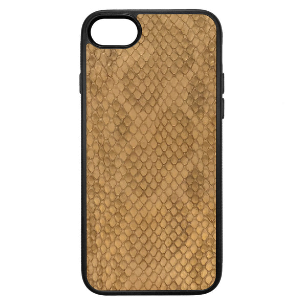 Gold Anaconda iPhone 8 Leather Case