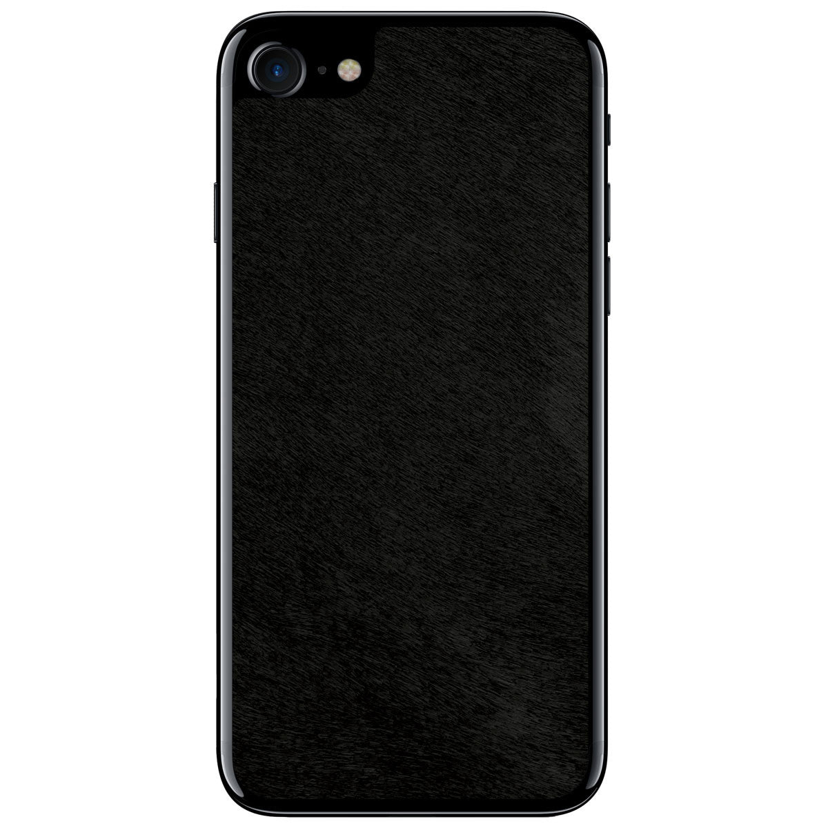Black Pony Hair iPhone 8 Leather Skin
