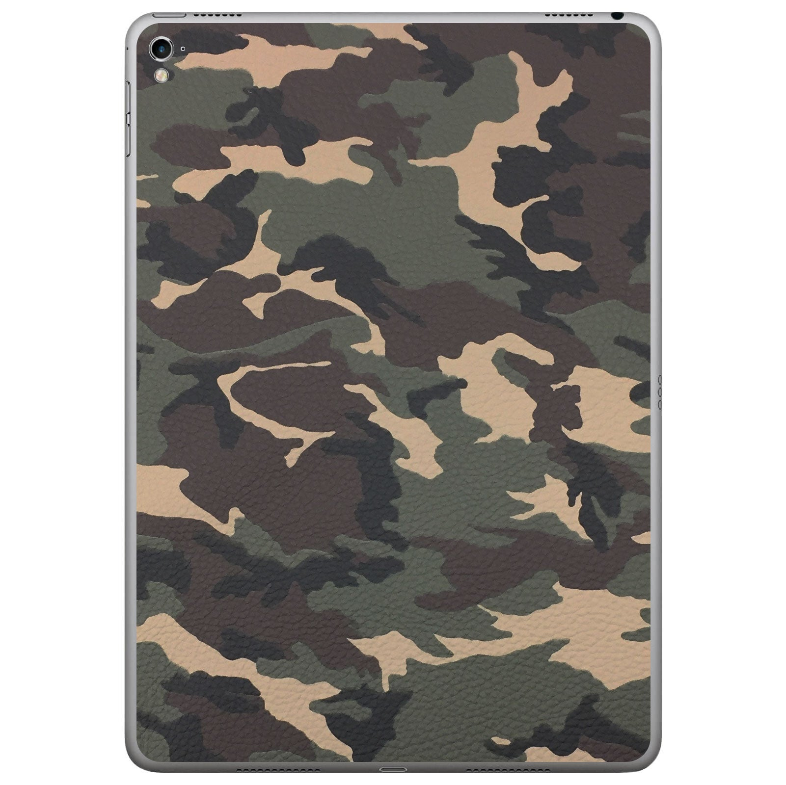 Camouflage iPad Pro Leather Skin