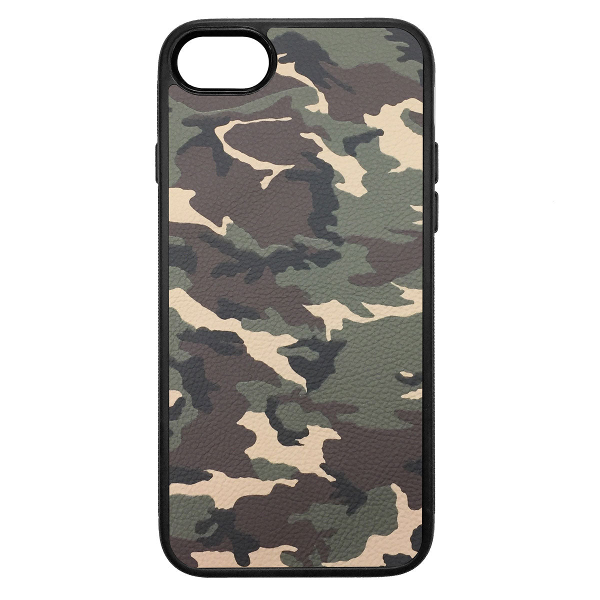 Camouflage iPhone 7 Leather Case