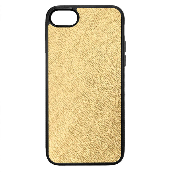 Gold iPhone 8 Leather Case