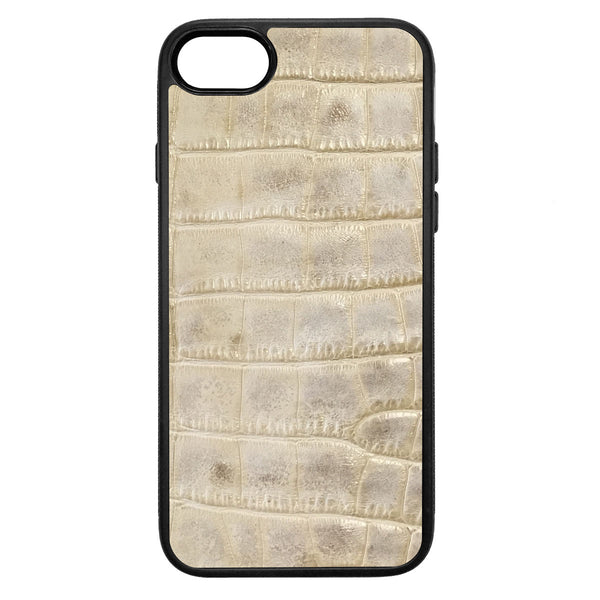 Alligator iPhone 8 Leather Case