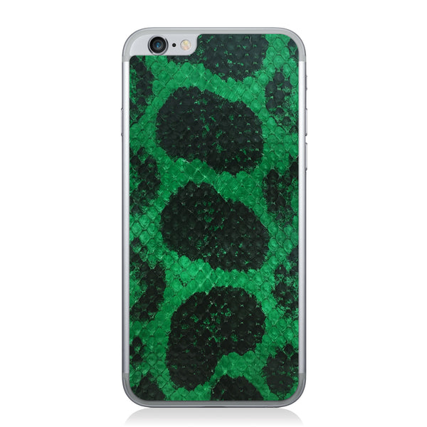 Green Anaconda iPhone 6/6s Leather Skin