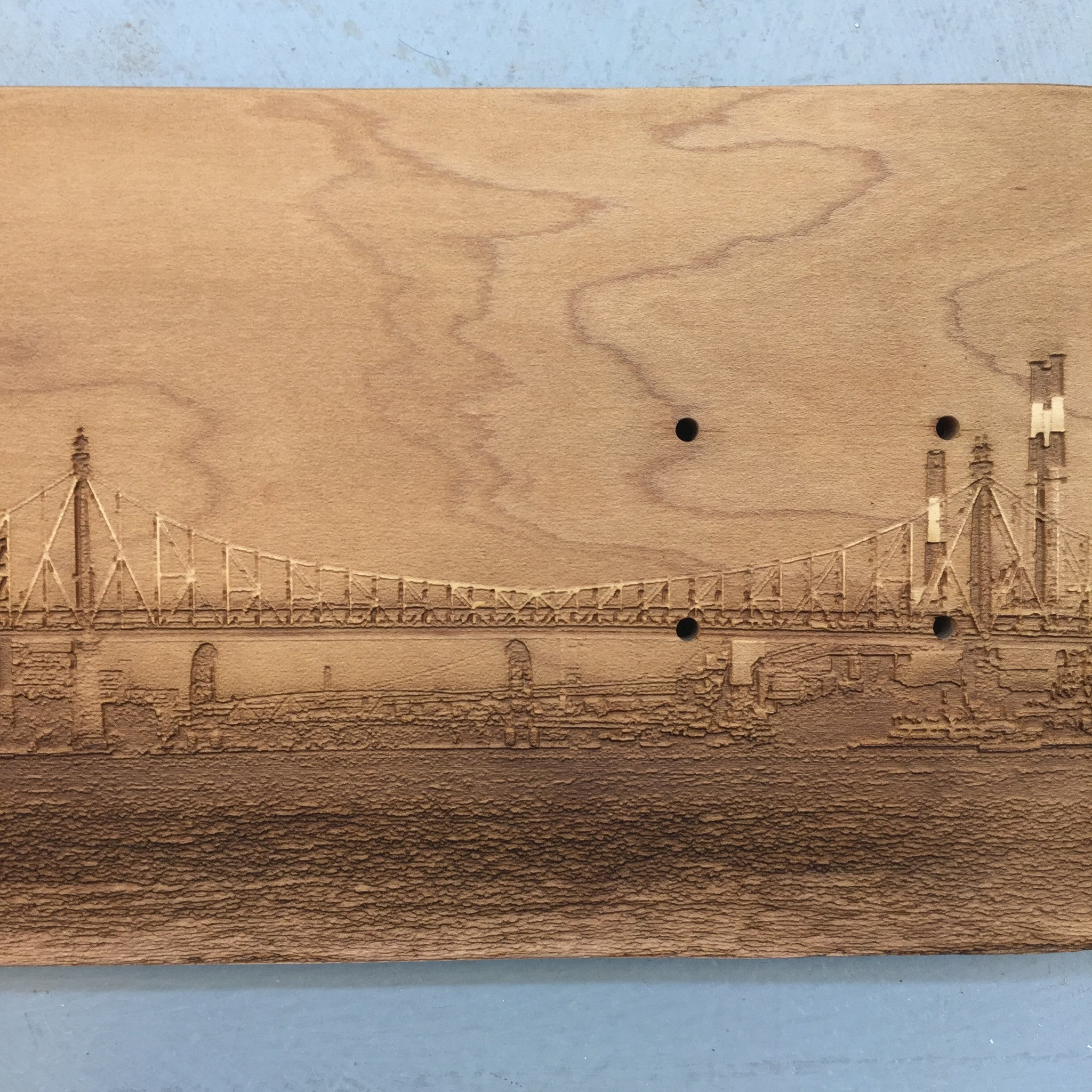 Queensboro Bridge Skateboard Deck