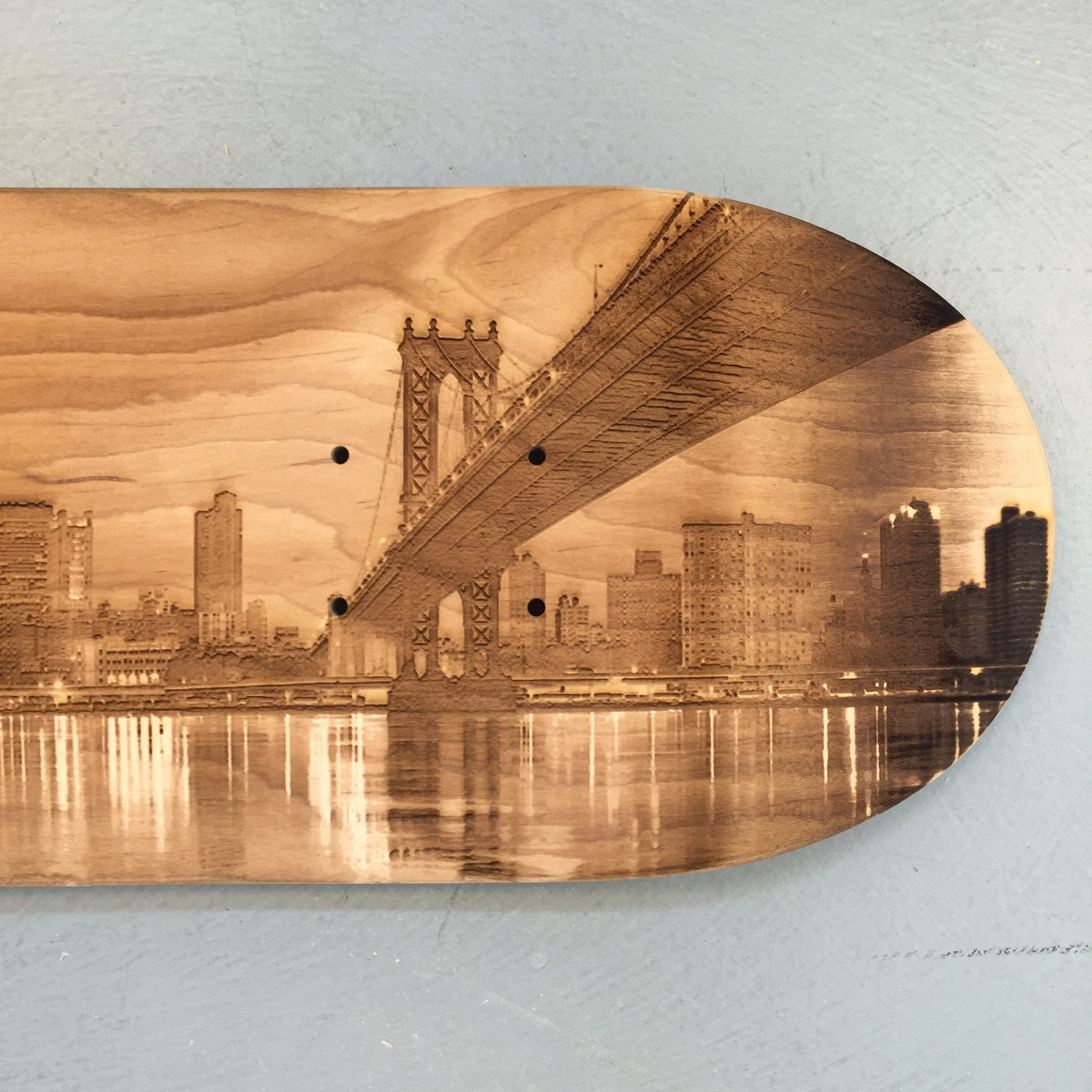 Bridges Skateboard Deck