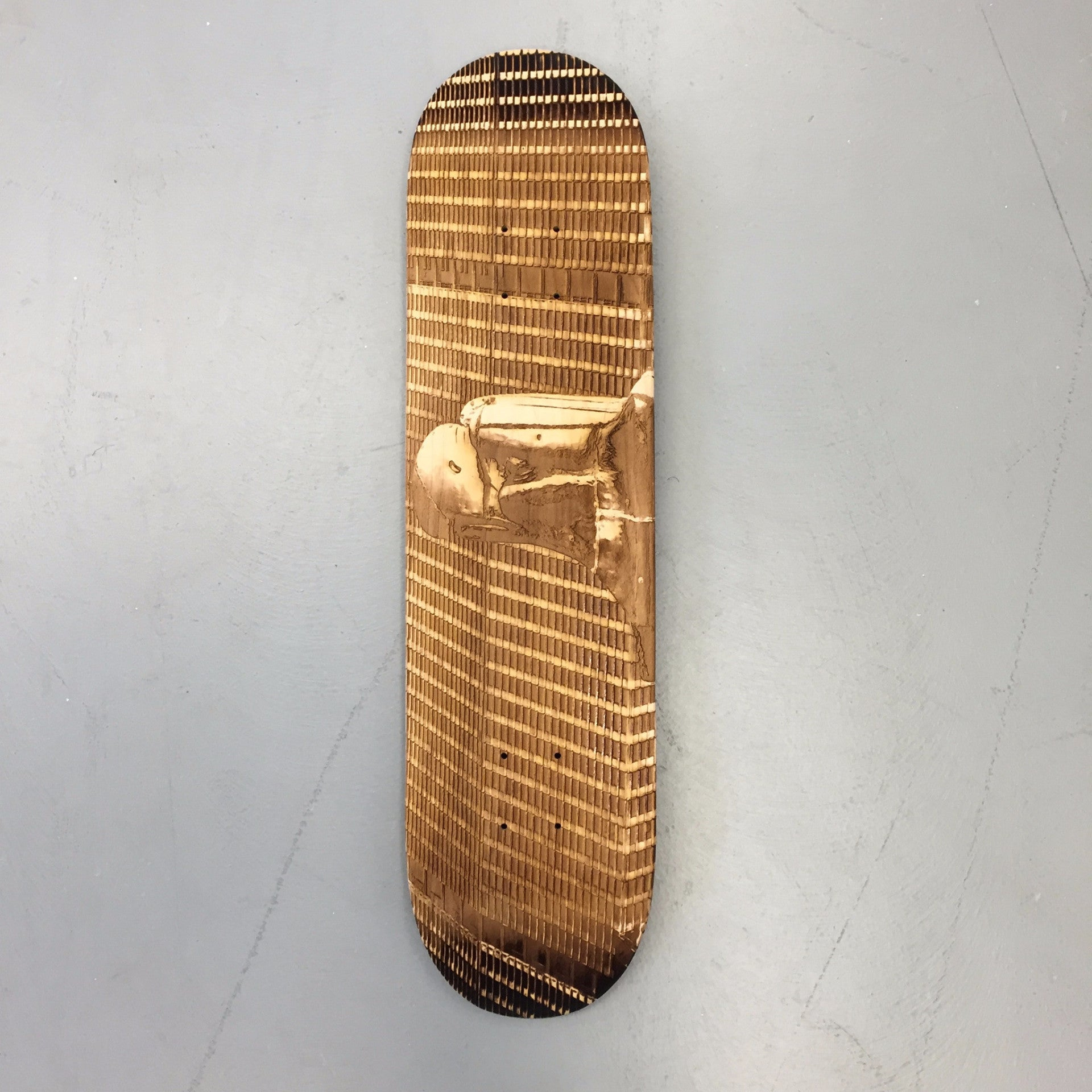 Chrysler Building Eagle Skateboard Deck