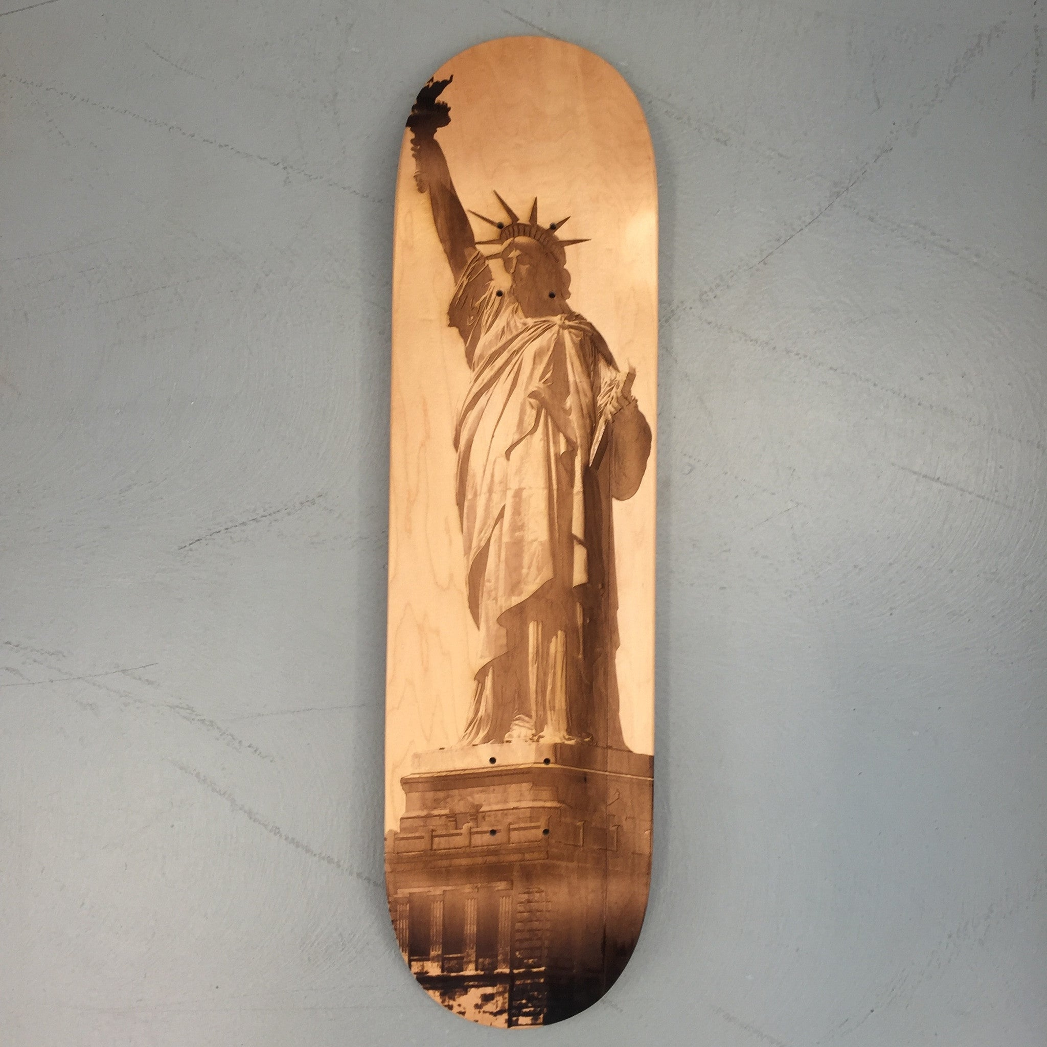 Statue of Liberty Skateboard Deck