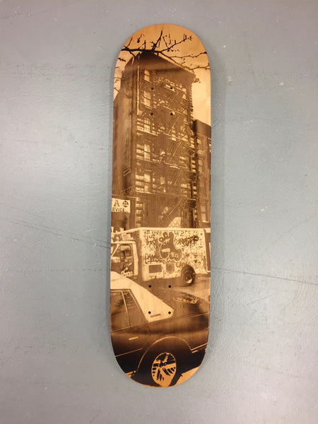 East Village Skateboard Deck
