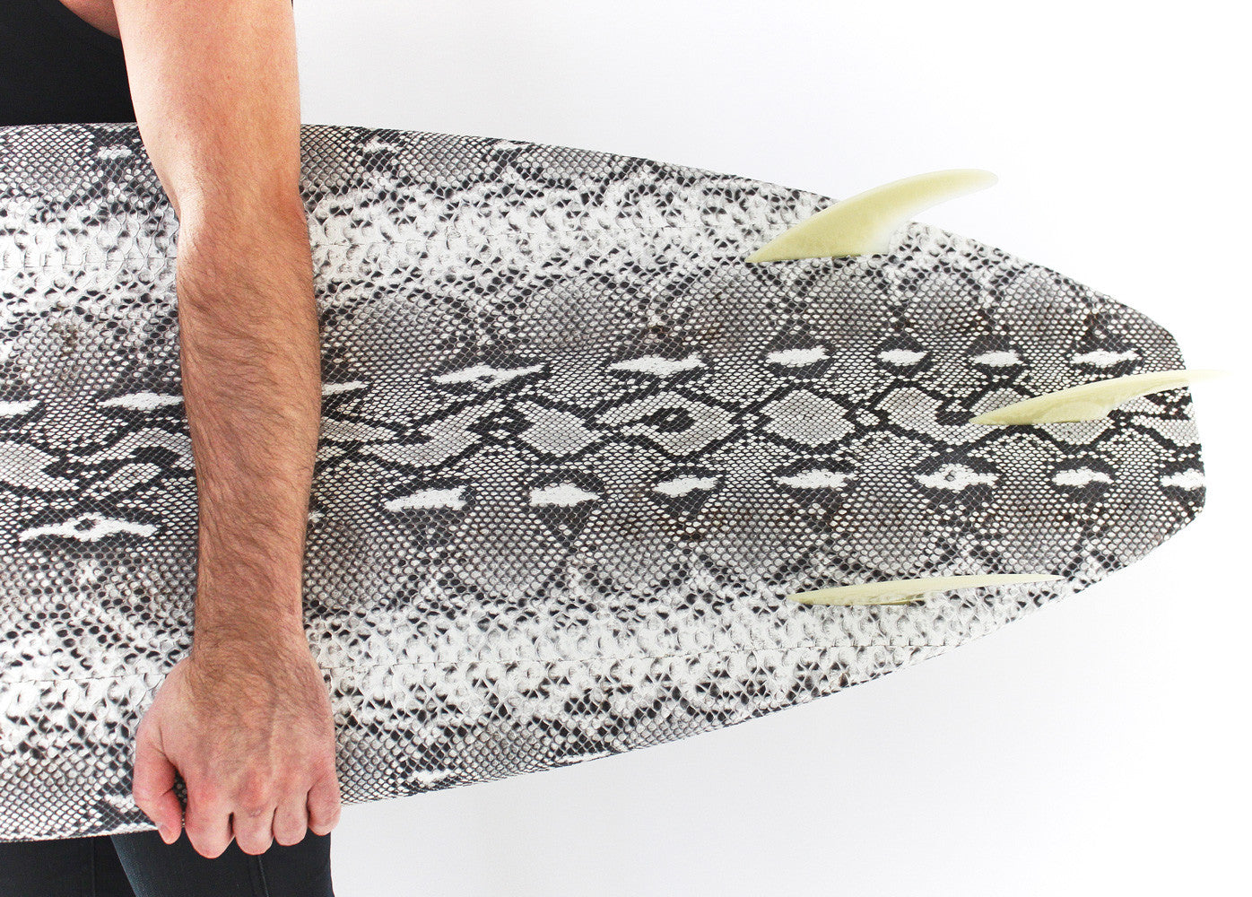 Python Leather Surfboard