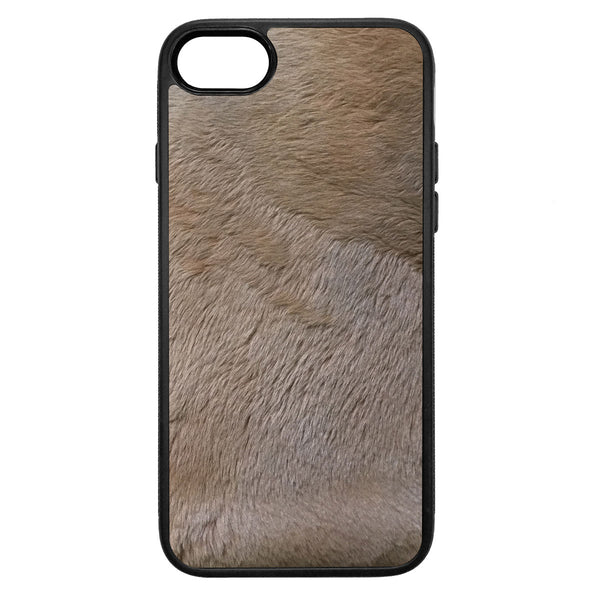 Kangaroo Fur iPhone 8 Leather Case