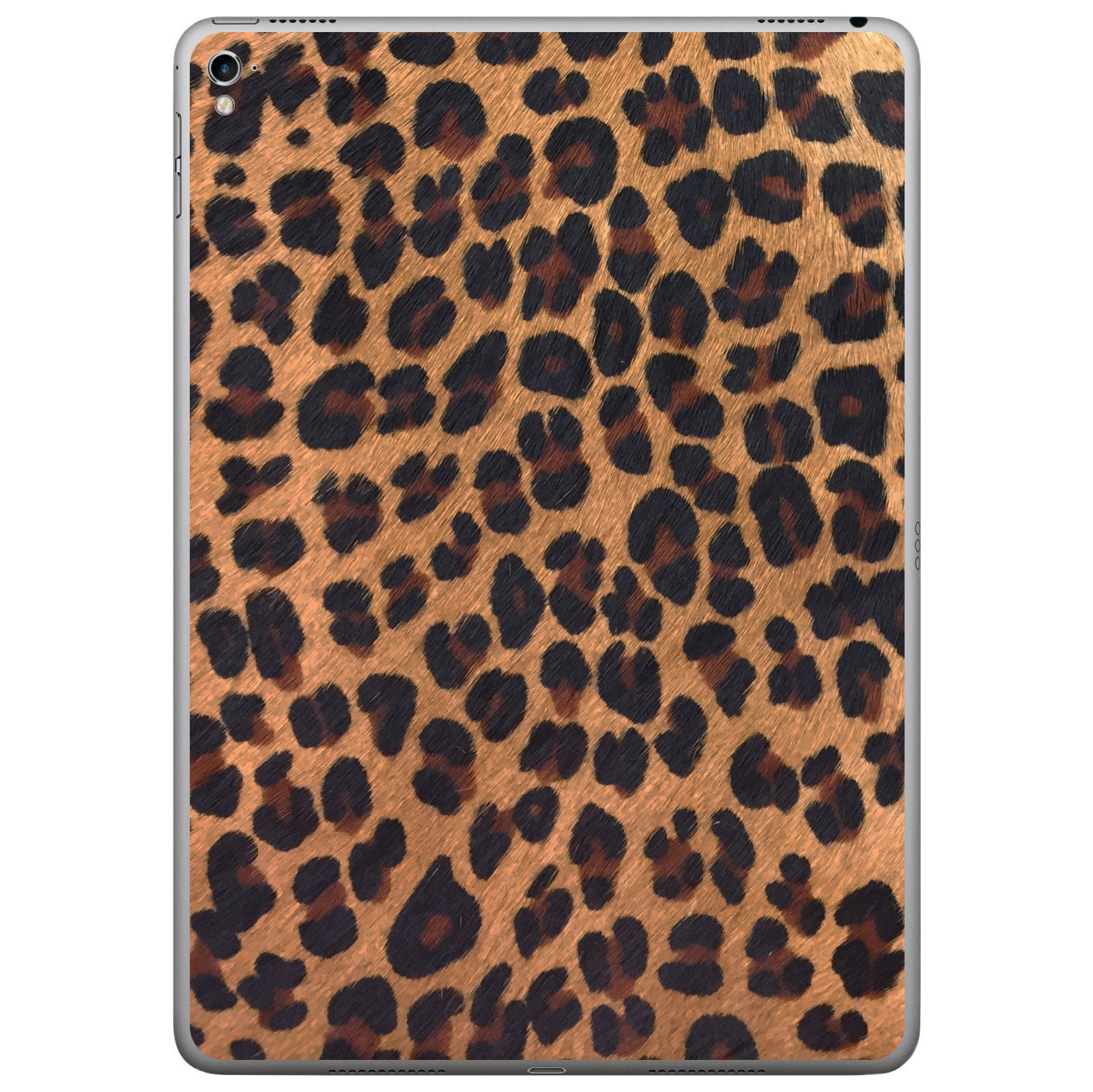 Leopard Print Pony Hair iPad Pro Leather Skin