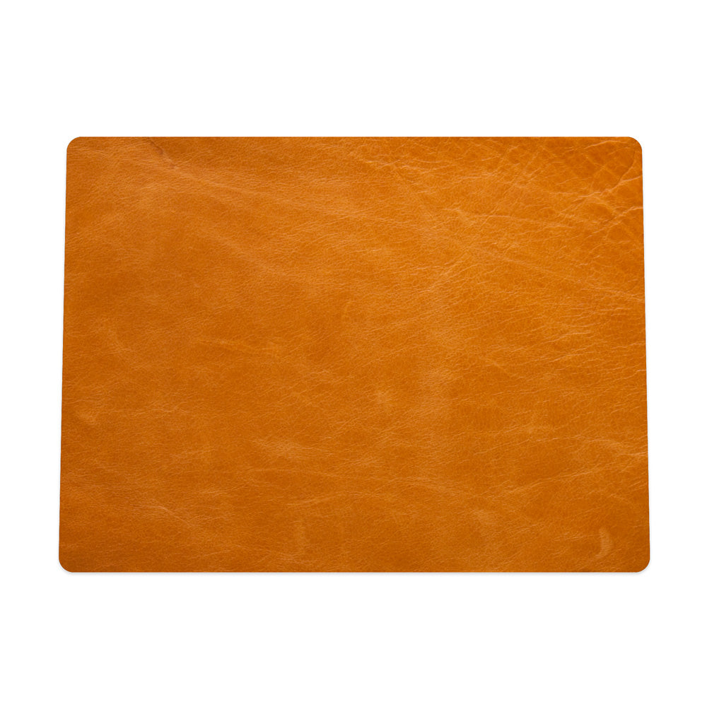 Tan Leather Mouse Pad