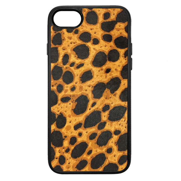 Cheetah Pony Hair iPhone 7 Leather Case