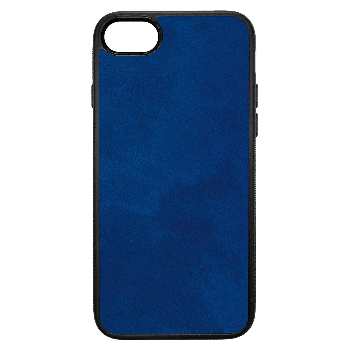 Cobalt Pony Hair iPhone 7 Leather Case