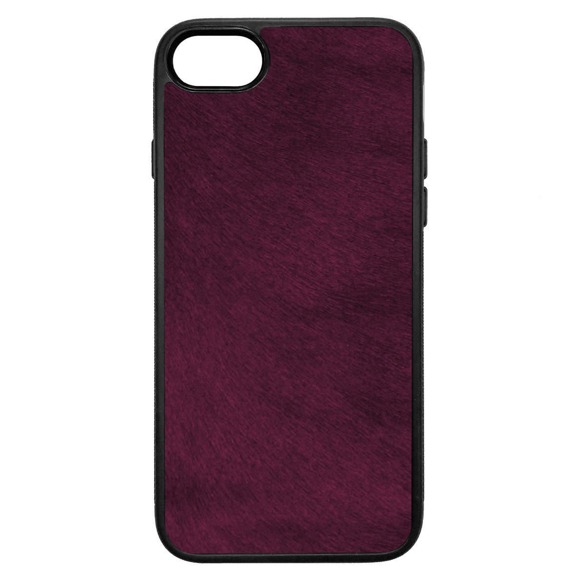 Violet Pony Hair iPhone 7 Leather Case