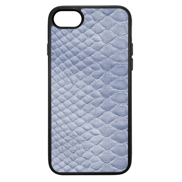 Sea Python Back iPhone 8 Leather Case