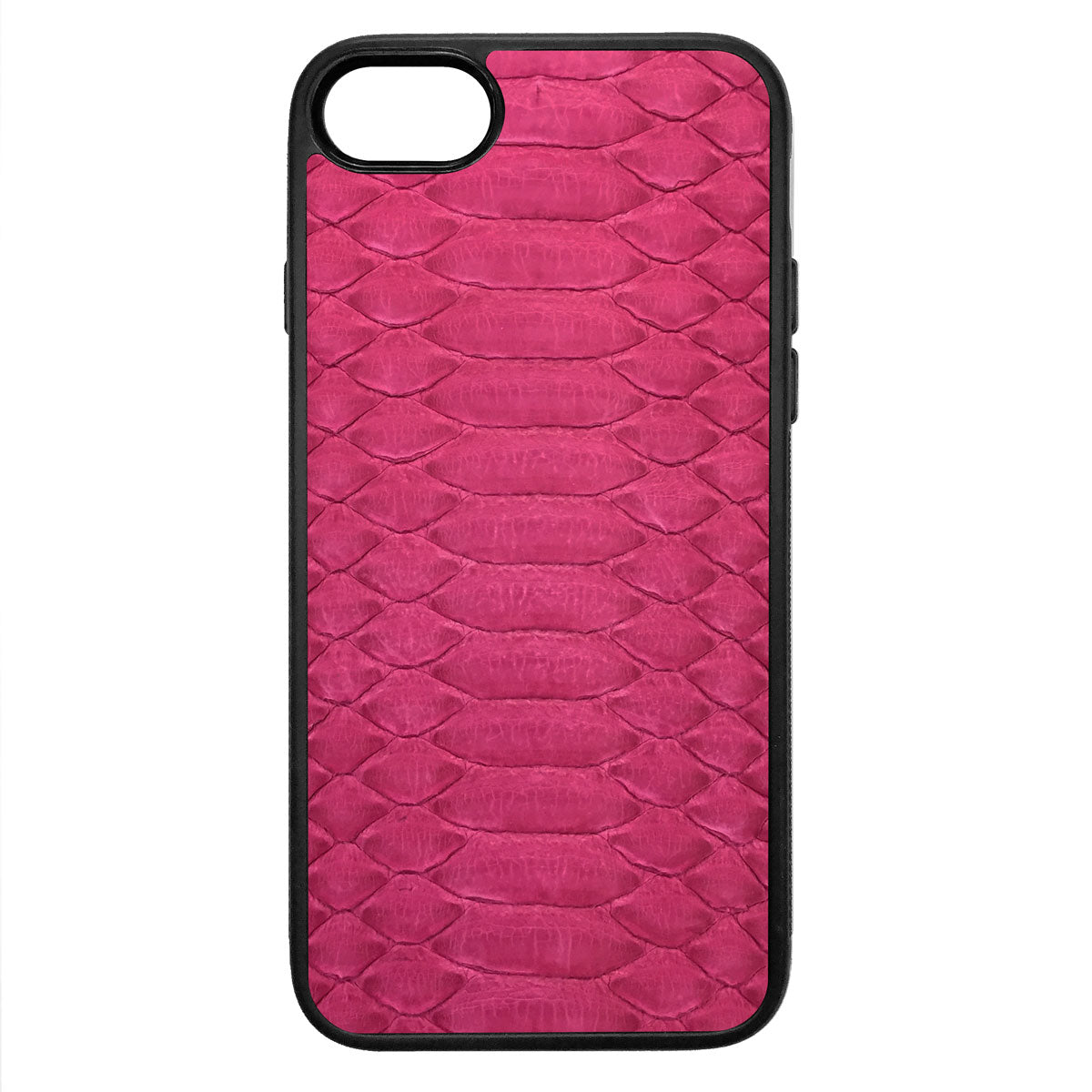 Fuchsia Python iPhone 7 Leather Case