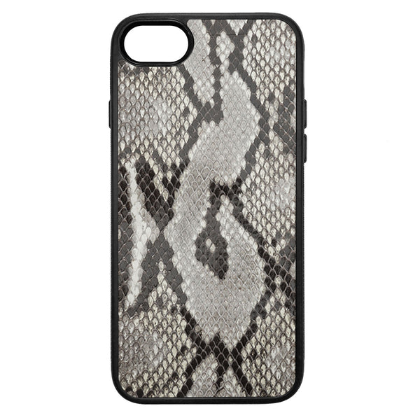 Gloss Python Back iPhone 8 Leather Case