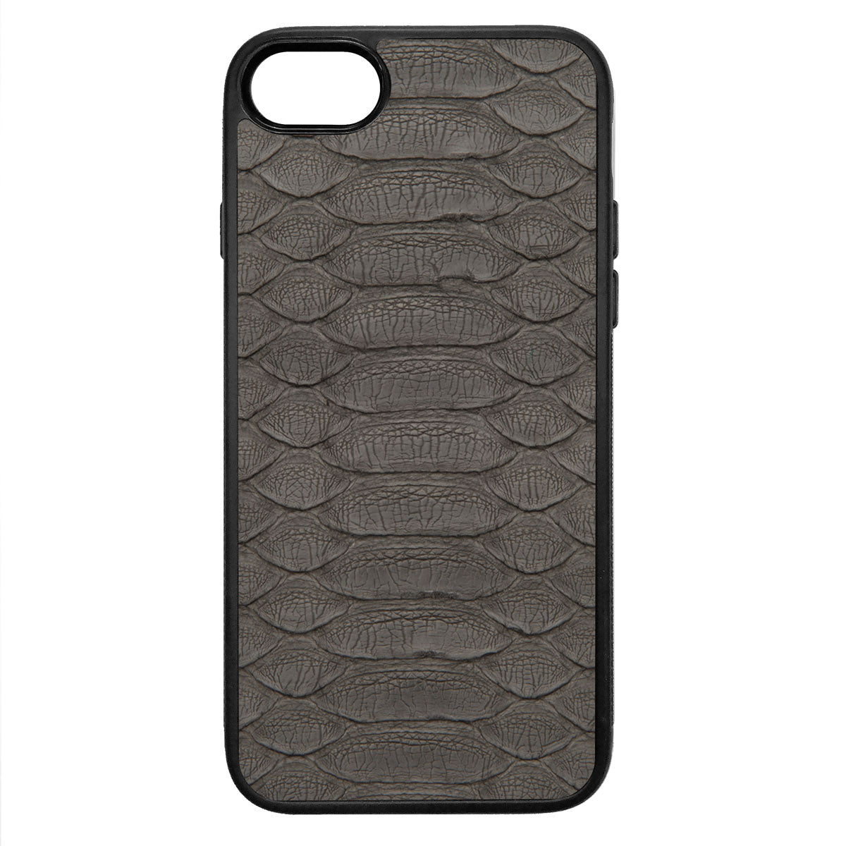 Gray Python iPhone 7 Leather Case