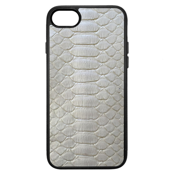 Pearl Python iPhone 8 Leather Case