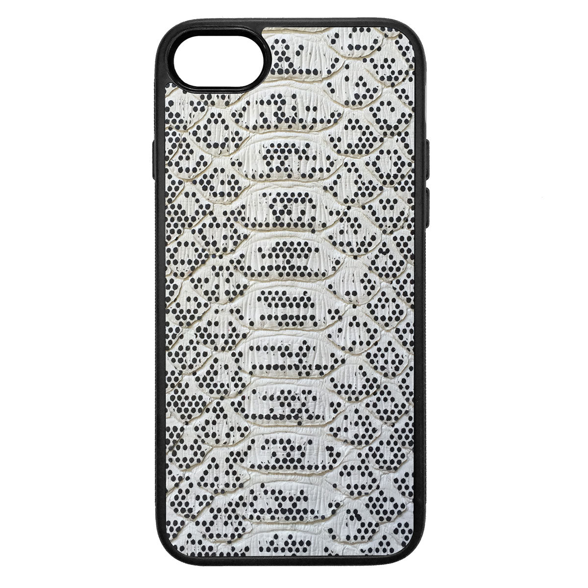 Pixelated Python iPhone 7 Leather Case