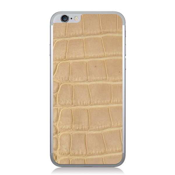 Blonde American Alligator iPhone 6/6s Leather Skin