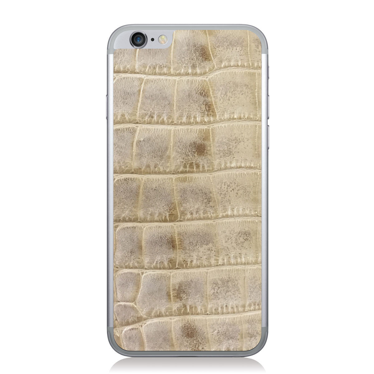 Natural American Alligator iPhone 6/6s Leather Skin