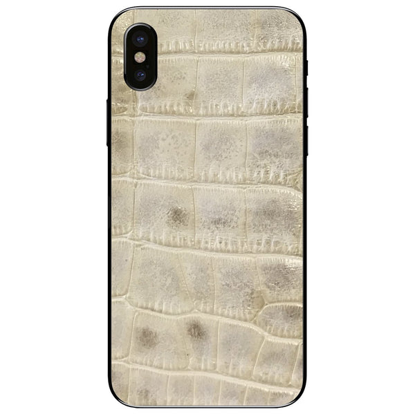 Alligator iPhone XS Leather Skin