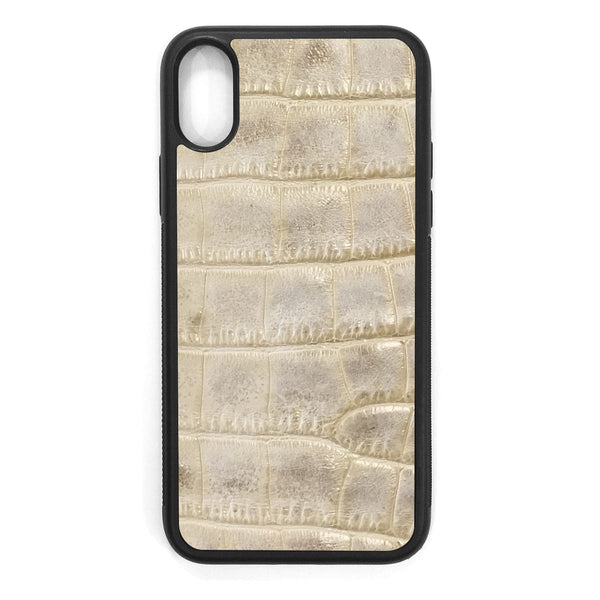 Alligator iPhone XS Leather Case
