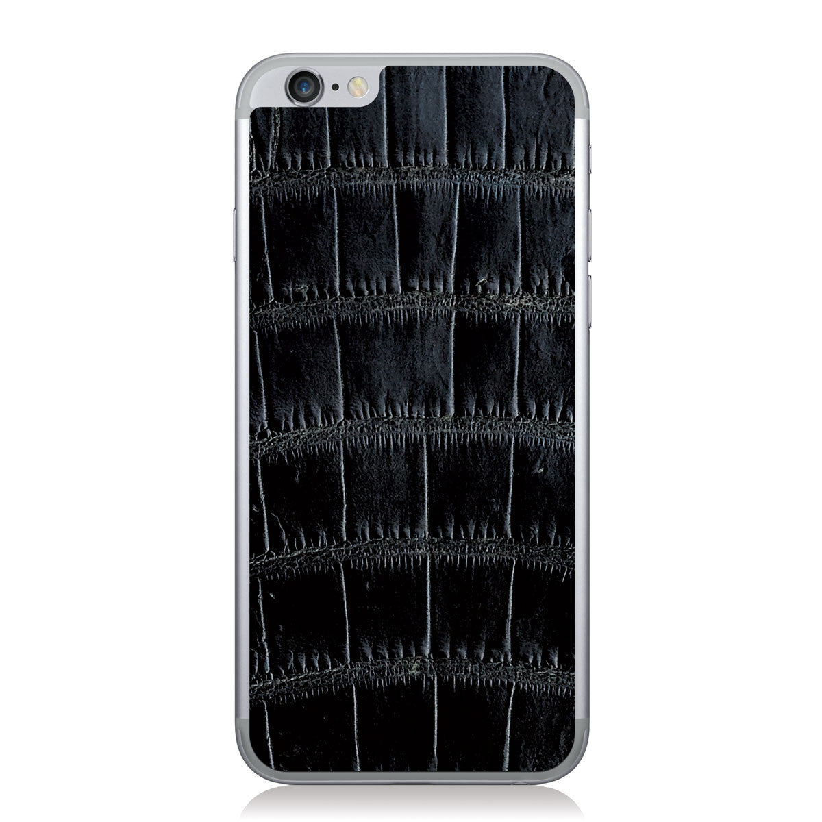 Black American Alligator iPhone 6/6s Leather Skin