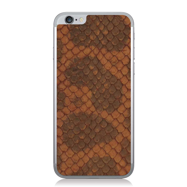 Burnt Orange Anaconda iPhone 6/6s Leather Skin
