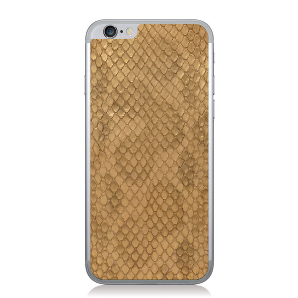 Gold Anaconda iPhone 6/6s Leather Skin