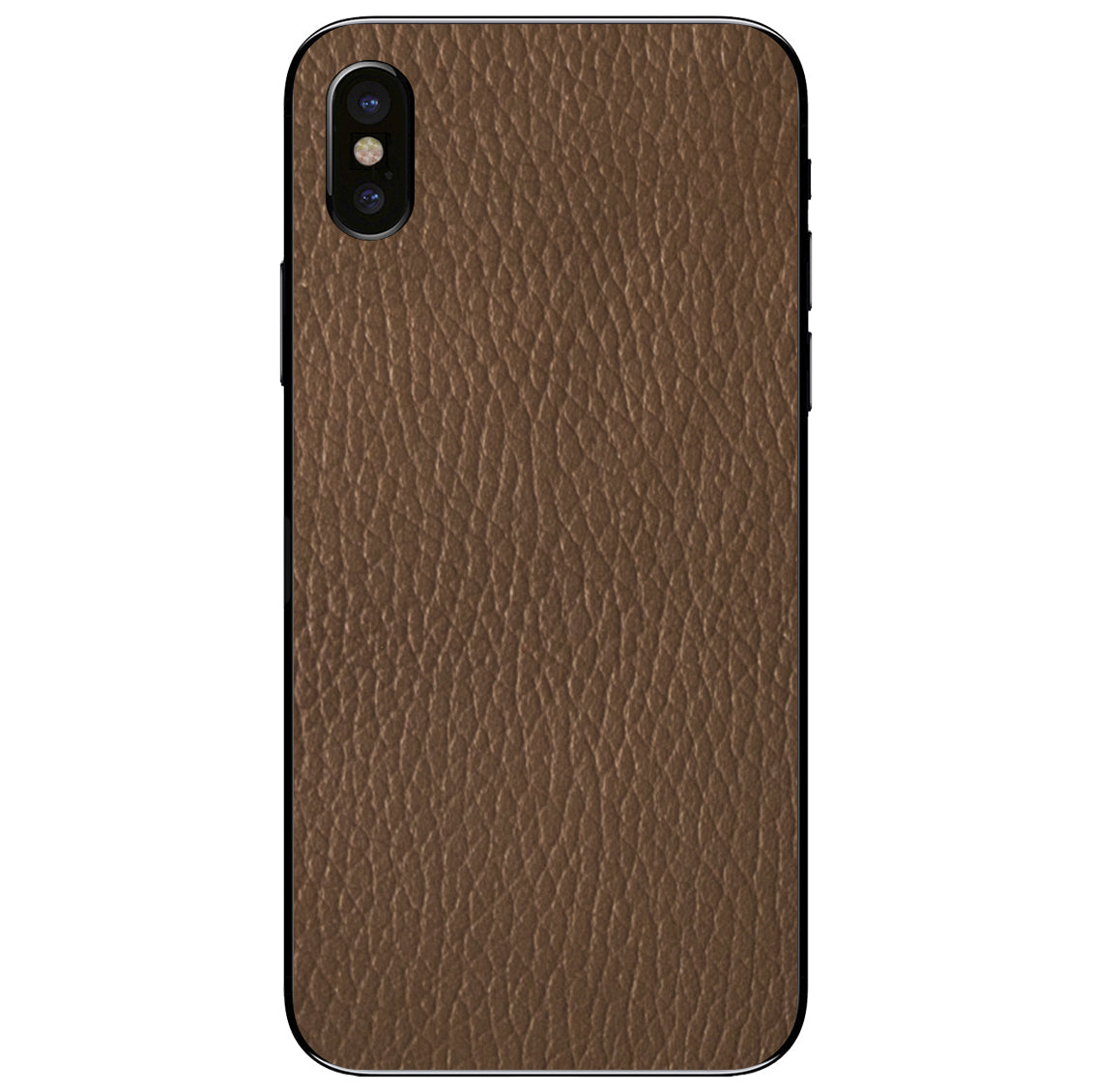 Auburn iPhone X Leather Skin