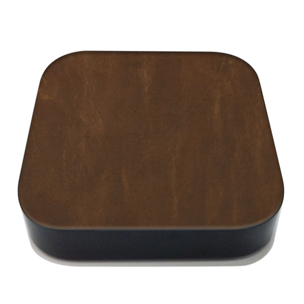 Auburn Apple TV Leather Cover