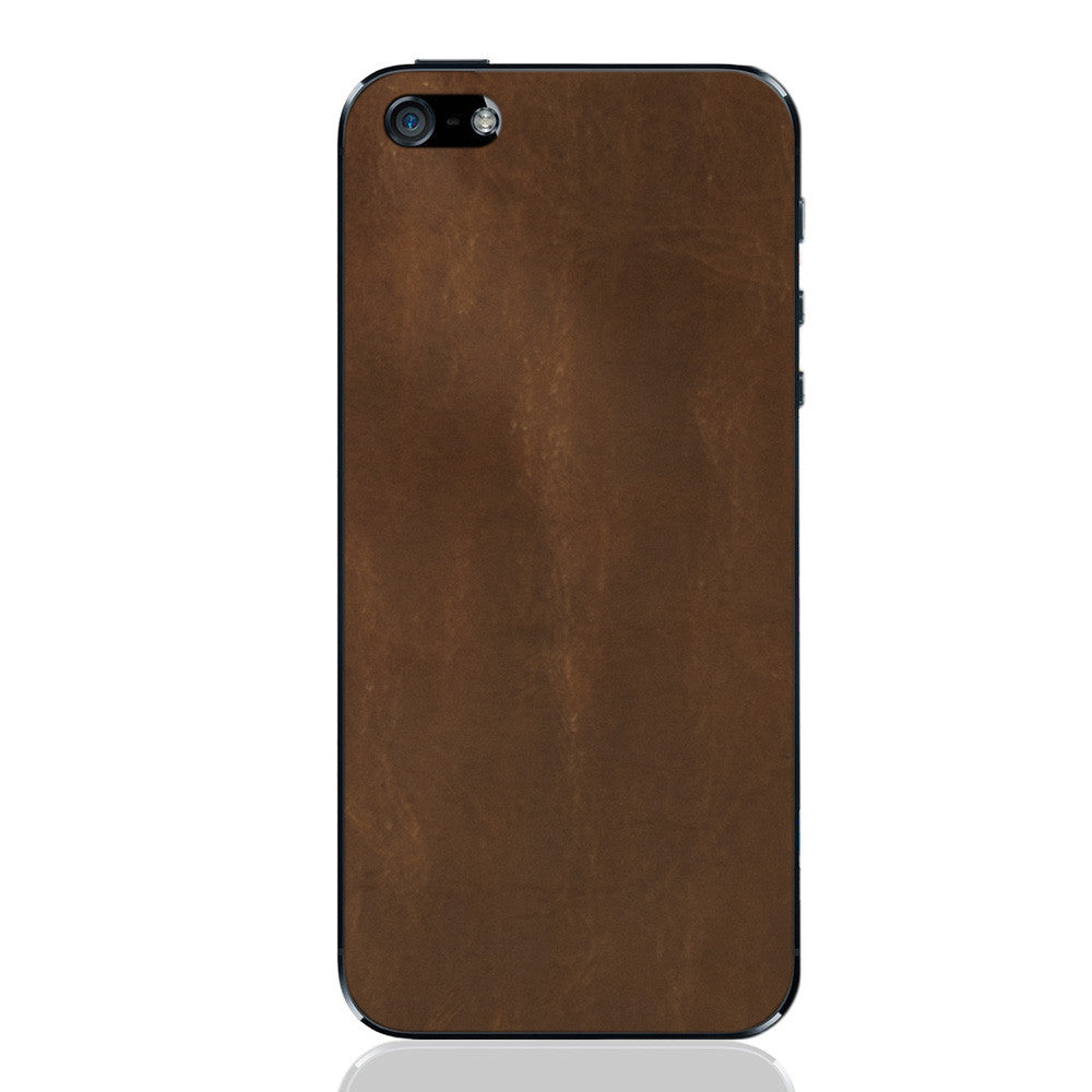 Auburn iPhone 5 - 5S - SE Leather Skin