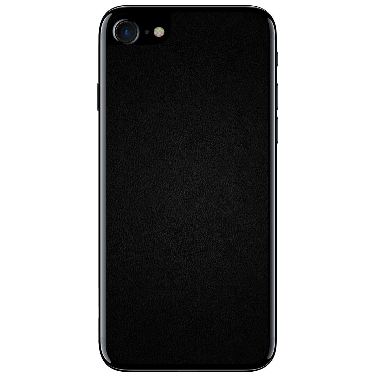Black iPhone 8 Leather Skin