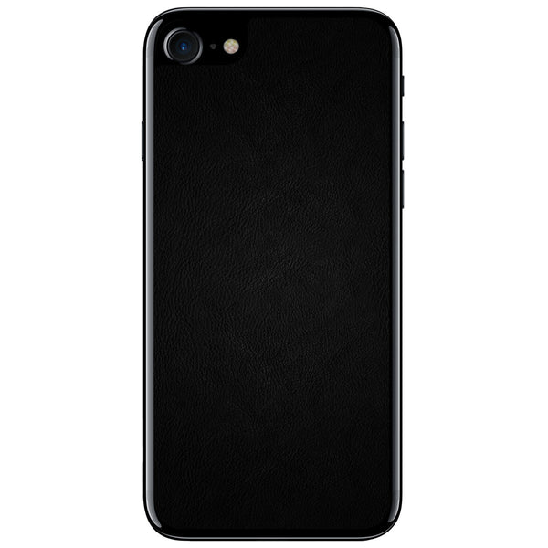 Black iPhone 7 Leather Skin