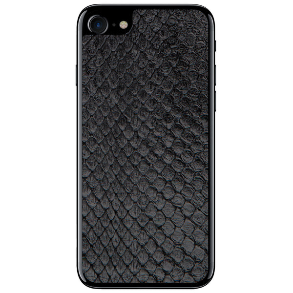 Black Anaconda iPhone 7 Leather Skin