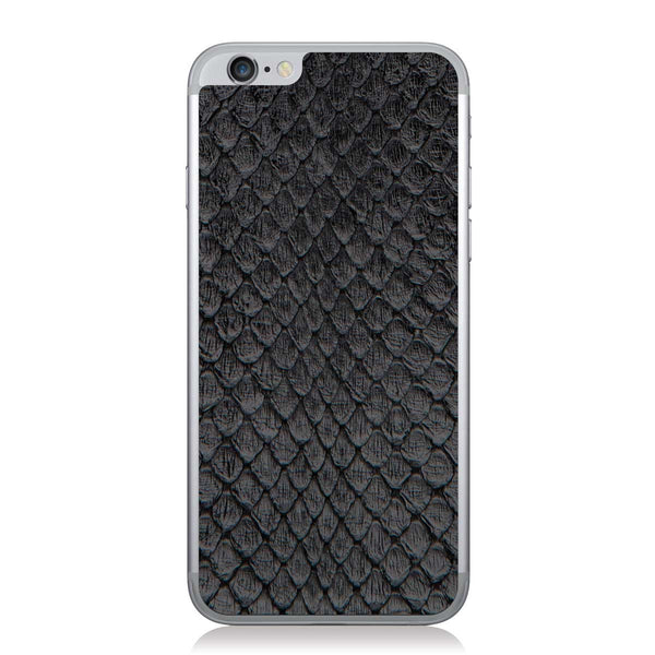 Black Anaconda iPhone 6/6s Leather Skin